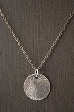 Judith Poe: Coin Disc Necklace