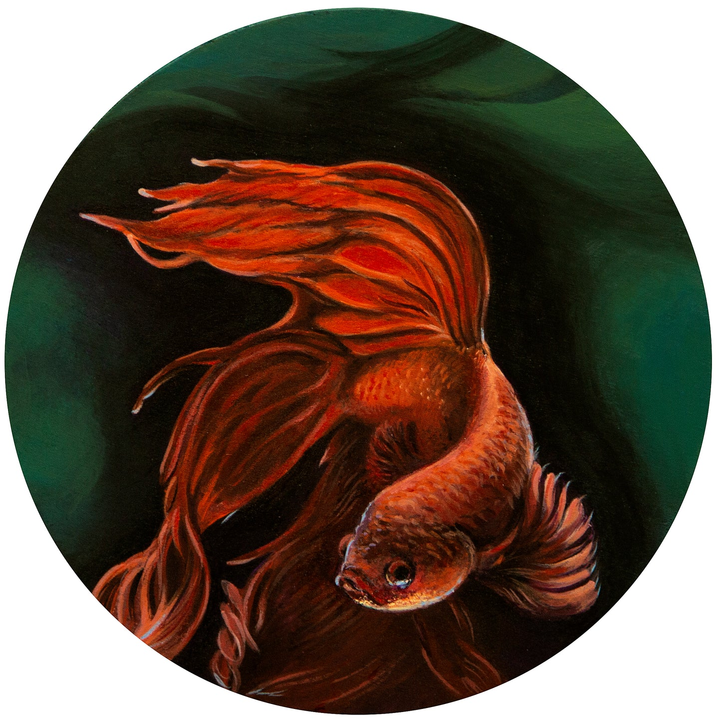 Timmy Mays: Betta Painting