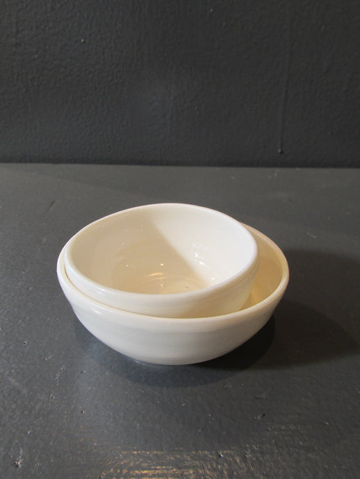Lauren Pedersen: Mini Bowl Set: White
