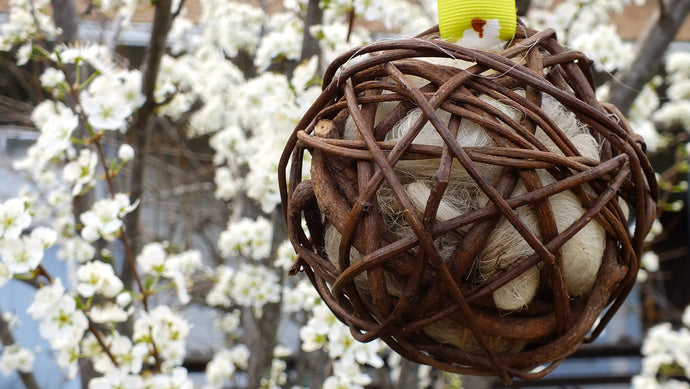 Plum Blossom Farm: Nesting Ball