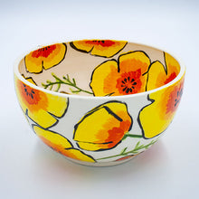 Sachiko Campe: Bowls with Poppies