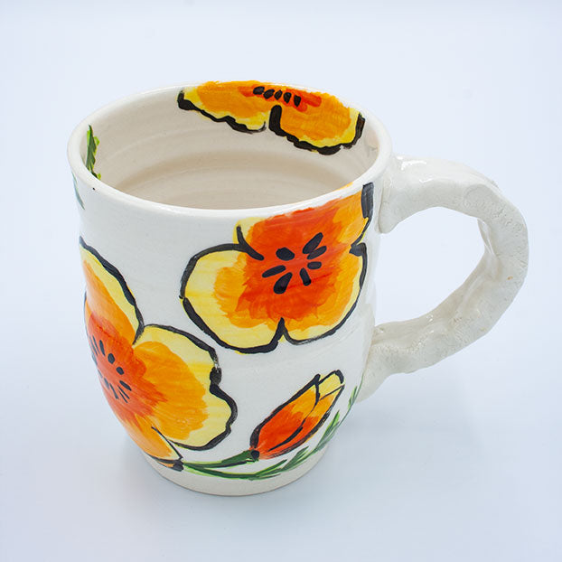 Sachiko Campe: Mugs with Poppies