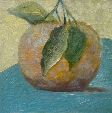 Gina Papen: Orange with Leaves