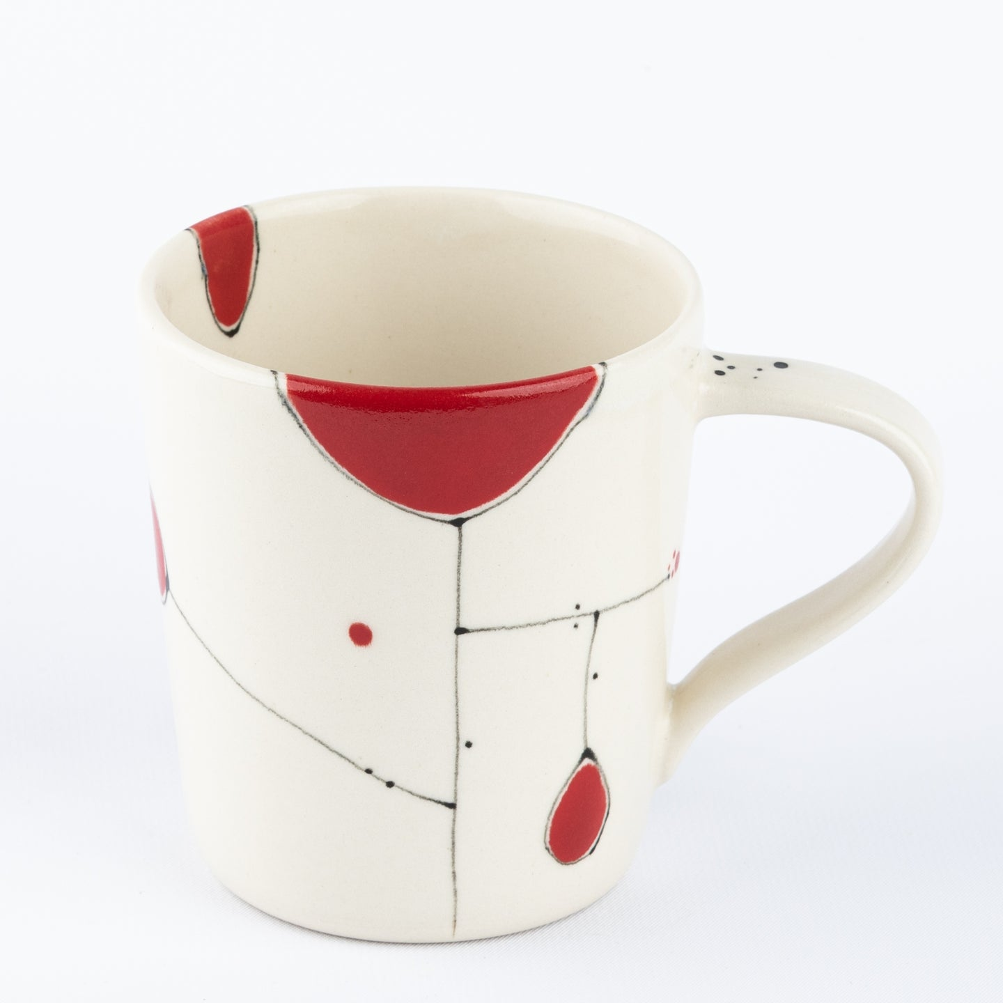 EZME Designs: (S) Small Red Mug