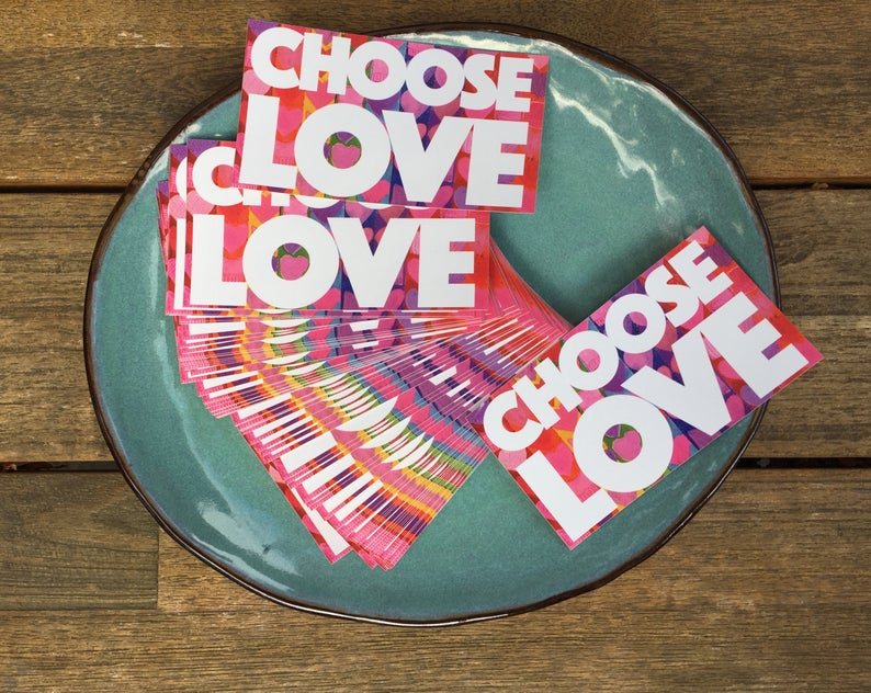 Kieren Dutcher: Choose Love Sticker