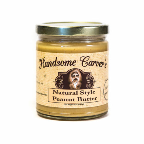 Handsome Carver's Nut Butters: Natural Style Peanut Butter