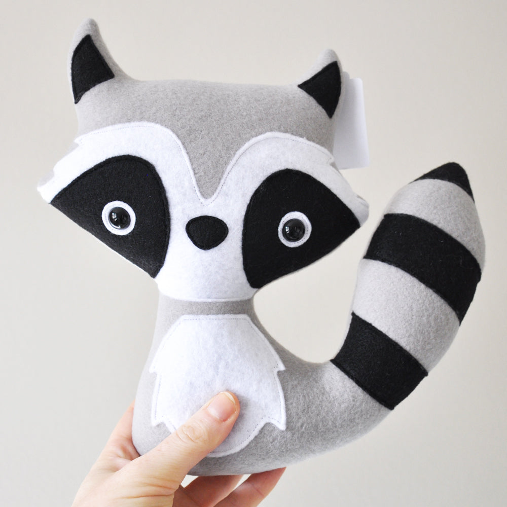 Gina Barnes: Raccoon Stuffy