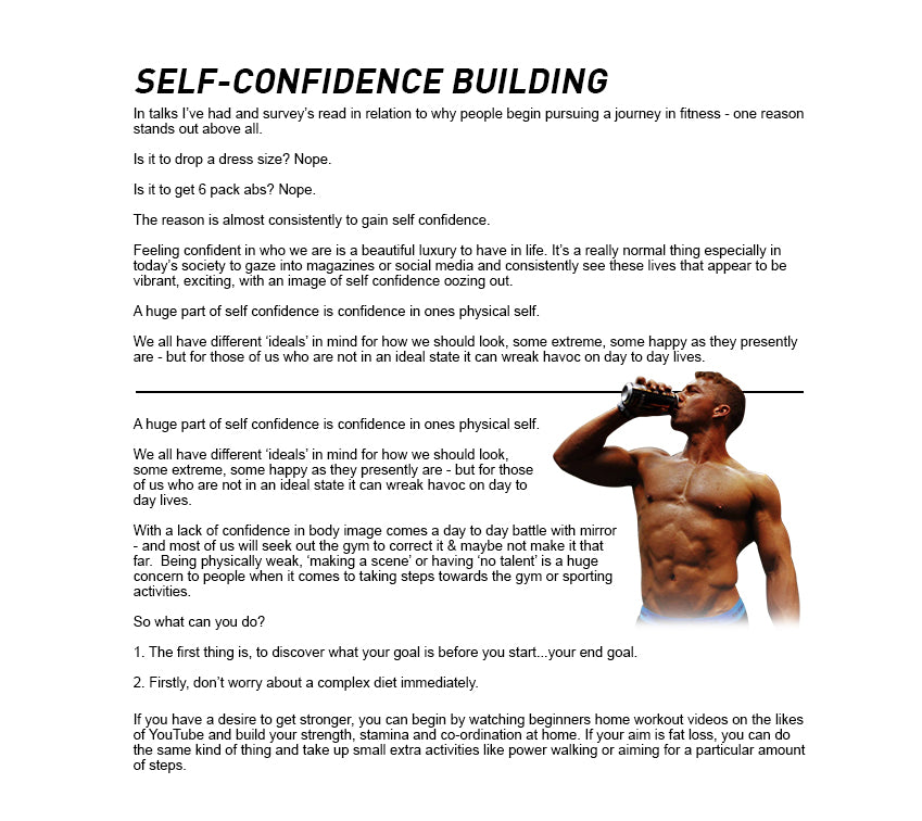 building self confidence