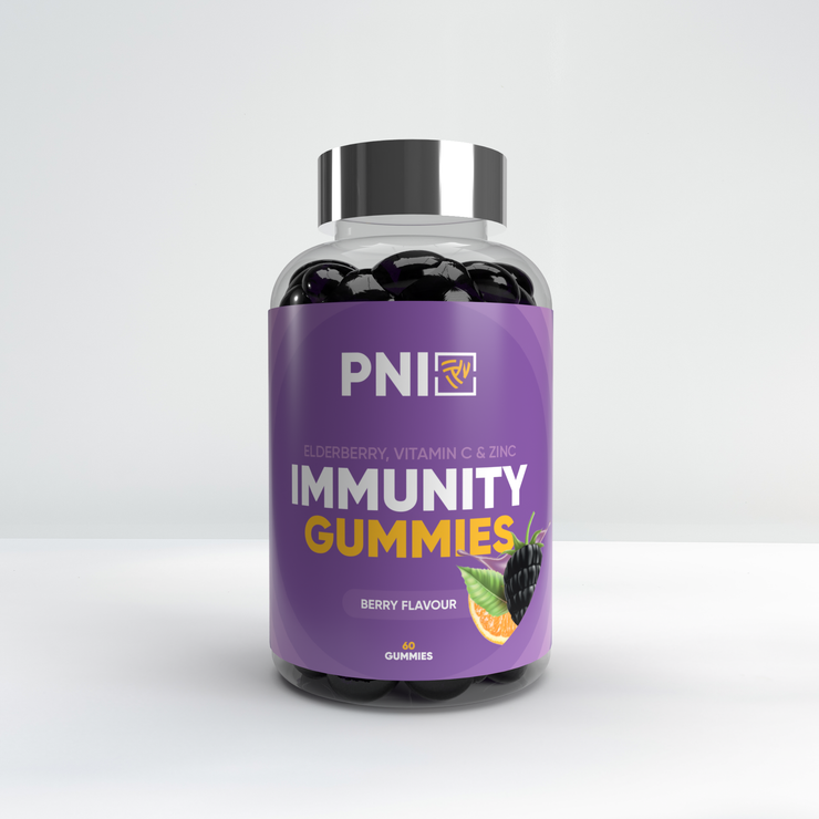 Immunity Gummies Zinc, Elderberry + Vitamin C