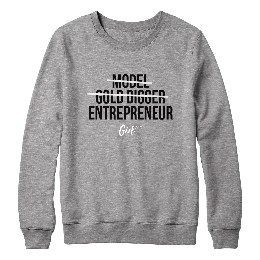 Girl CEO Sweater - Grey *LIMITED EDITION*