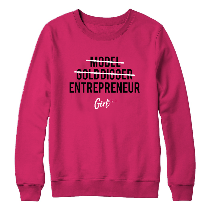 Girl CEO Sweater - Pink