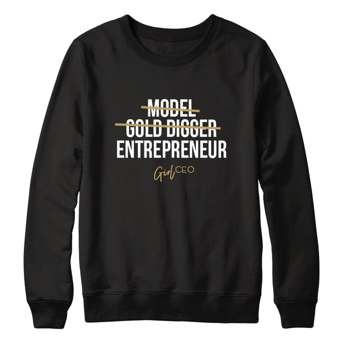 Girl CEO Sweater - Black