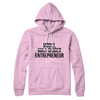 Baby Pink Girl CEO Classic Hoodie- Limited Edition