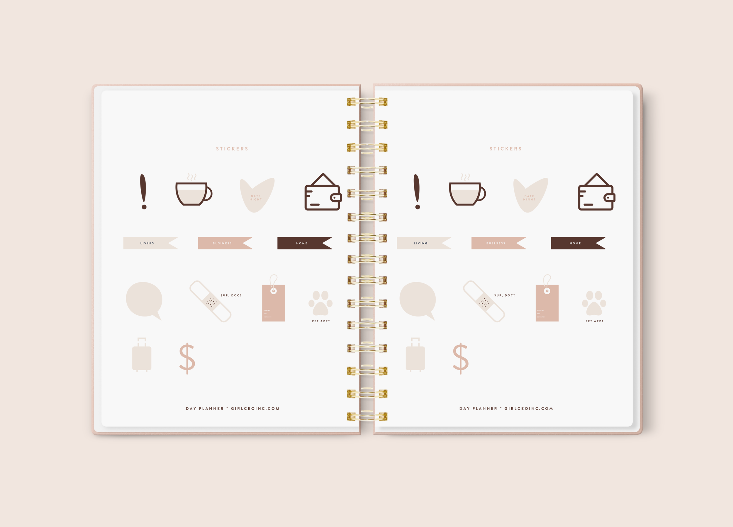 Dateless Girl CEO Planner Bundle Deal!