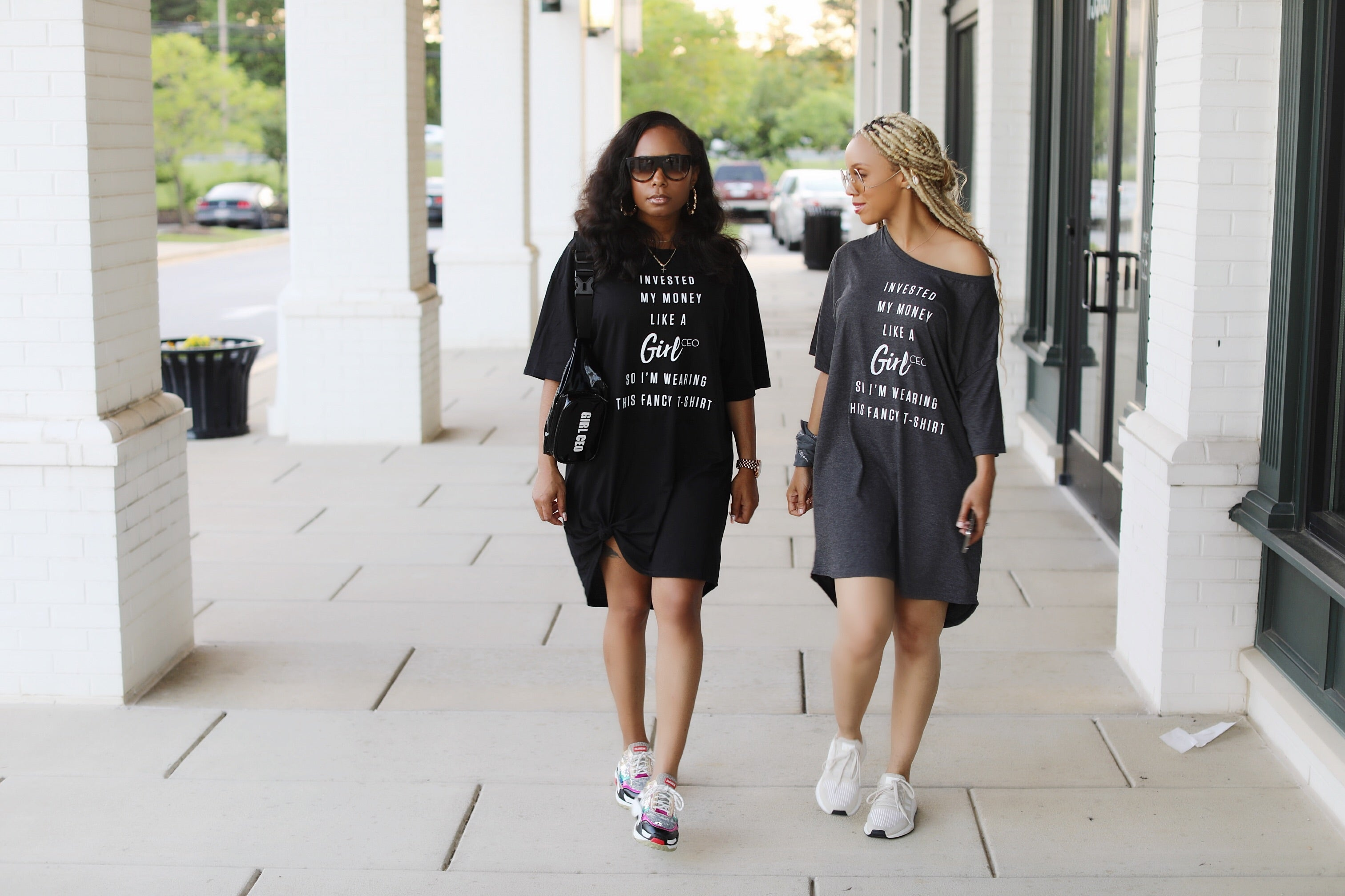 Black Girl CEO T Shirt Dress