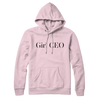 Classic Girl CEO Logo Baby Pink Hoodie Full length  - Limited Edition