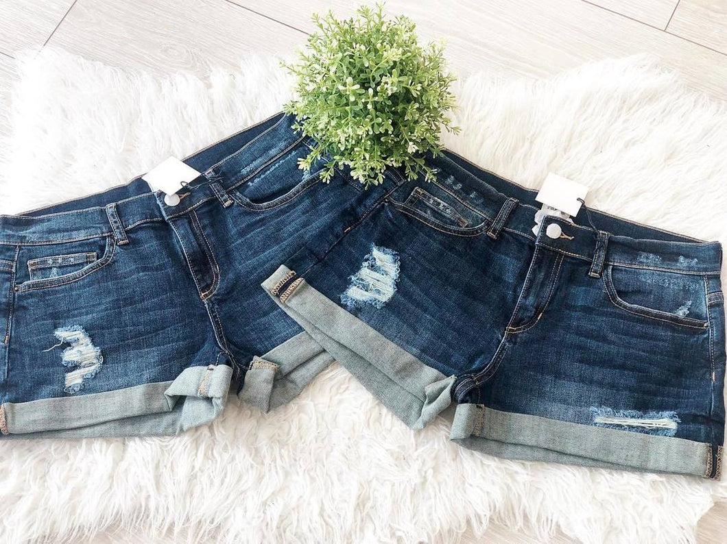 Denim Shorts Medium Wash