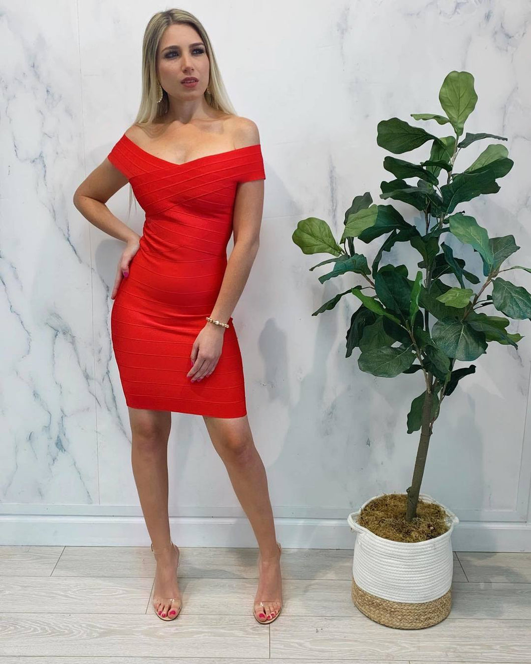 Saray  Bandage Dress