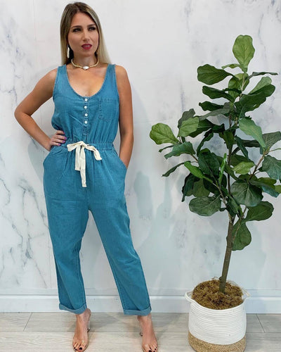 Calera Denim Jumpsuit