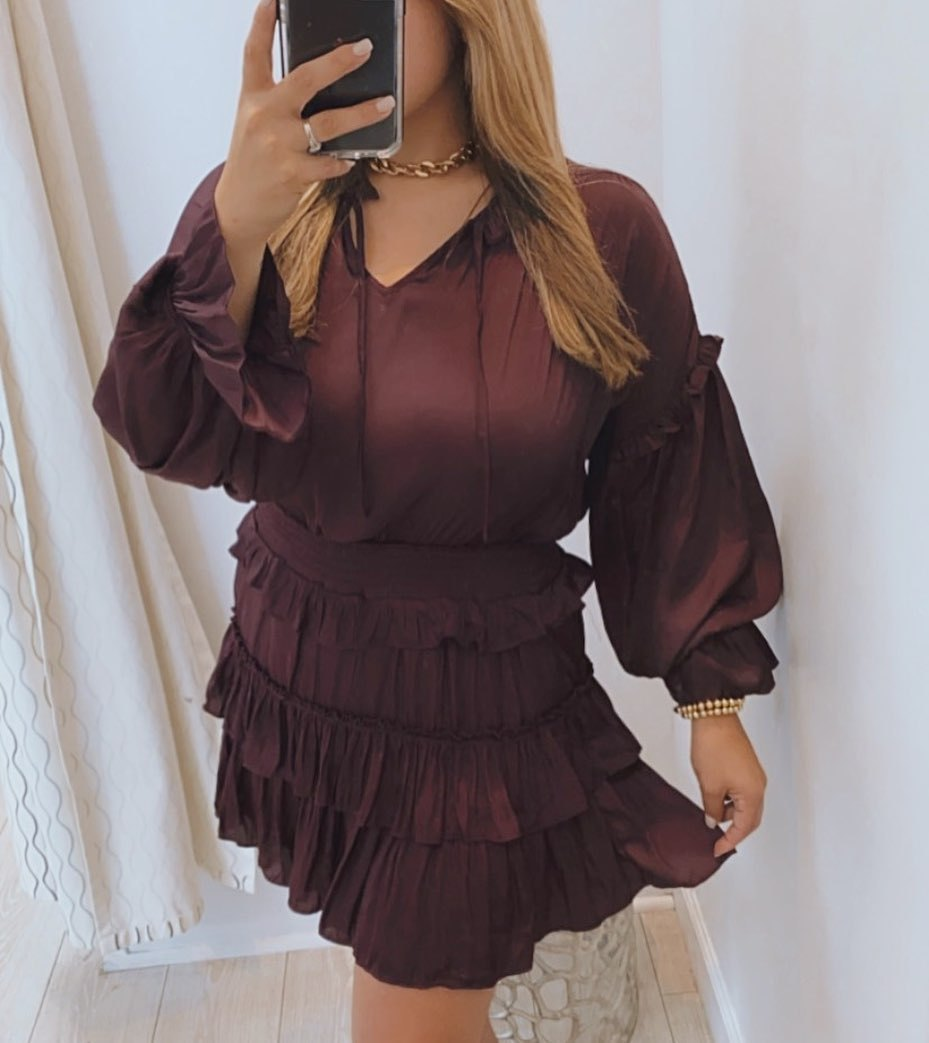 Eria Ruffle Dress