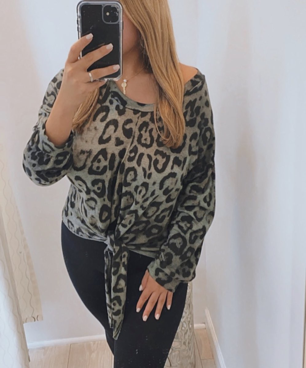 Rory Leopard Top