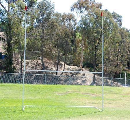 Equipment - Portable Rugby Goal Posts--Ships Free