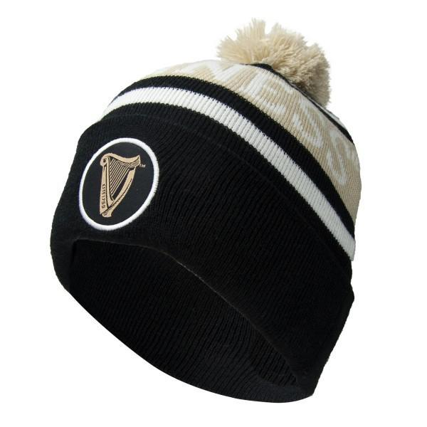 Hat - Guinness Black & White Premium Beanie