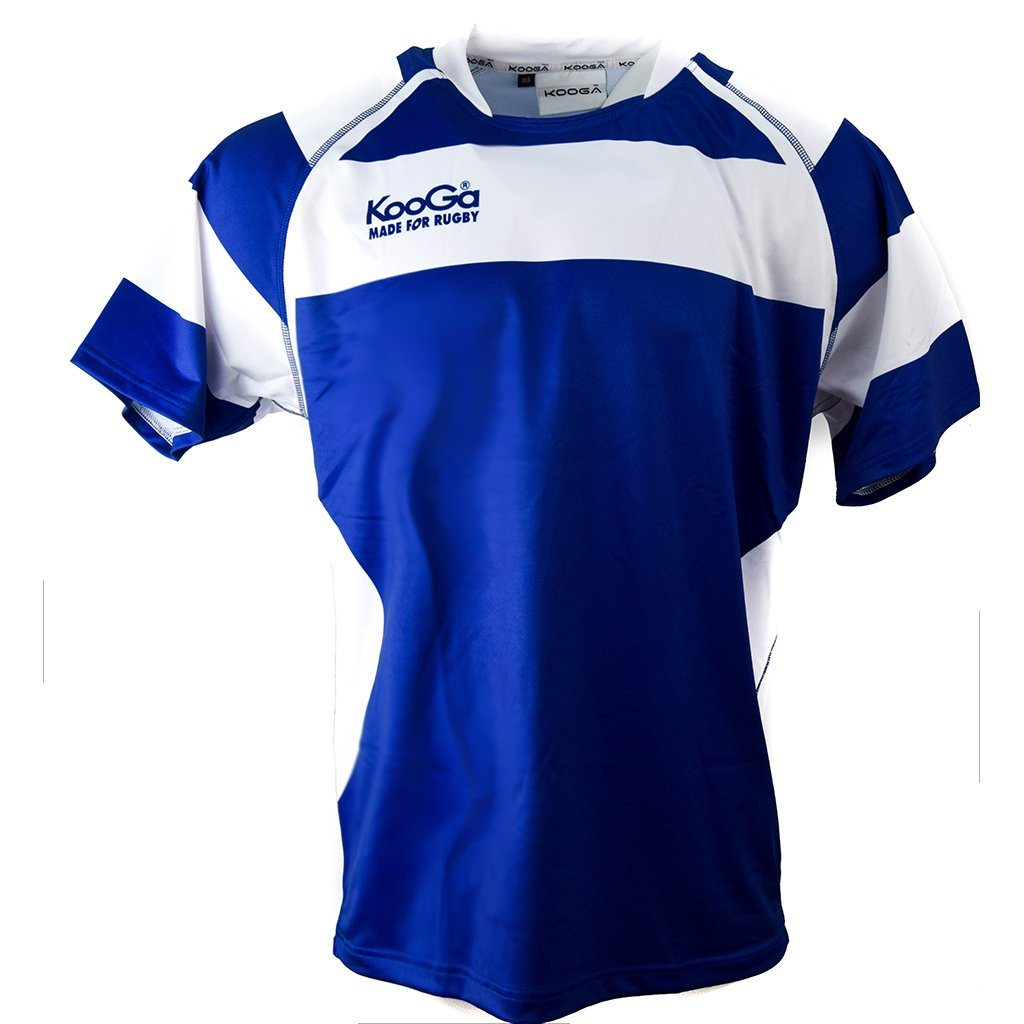 Match Apparel - Kooga Cardiff II Rugby Jersey (Blue White): Clearance Sets
