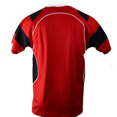 Match Apparel - Kooga Cardiff II Rugby Jersey (Red/Black): Clearance Sets