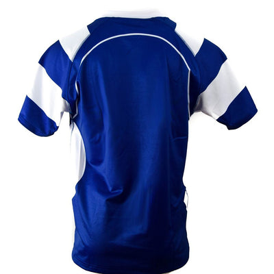 Match Apparel - Kooga Cardiff II Rugby Jersey (Royal/White): Clearance Sets