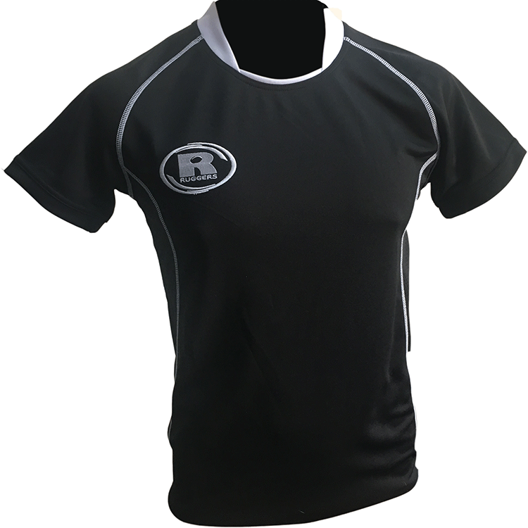 Match Apparel - Warrior Rugby Jersey (Black): Clearance Sets