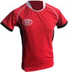 Match Apparel - Warrior Rugby Jersey (Red): Clearance Sets