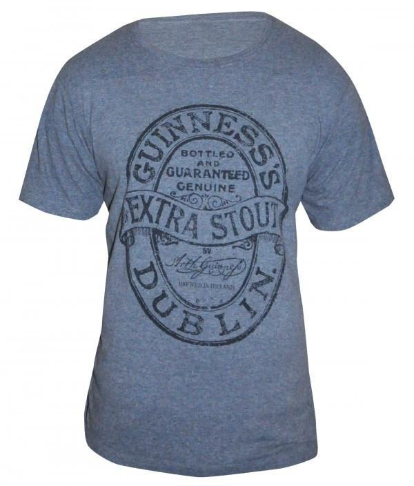 Pitchside - Guinness Heathered Label Tee