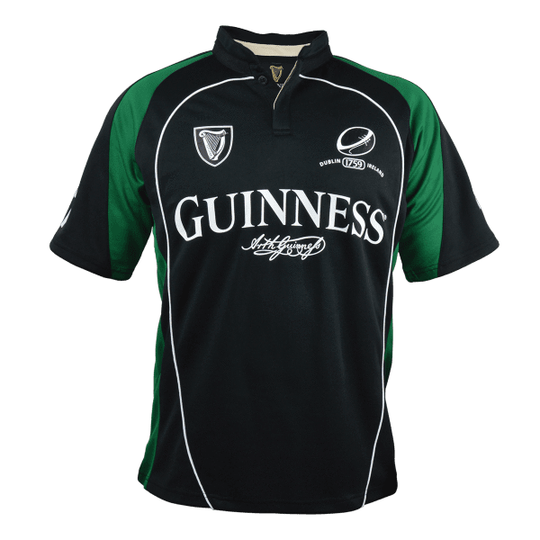 Pitchside - Guinness Short Sleeve Performance Rugby Jersey