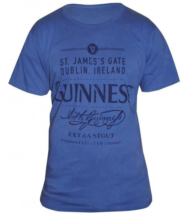 Pitchside - Guinness Vintage Distressed Tee