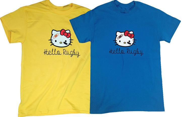Pitchside - Hello Rugby Tee