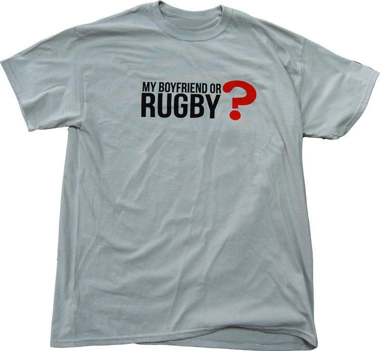 Pitchside - My Boyfriend Or Rugby Tee