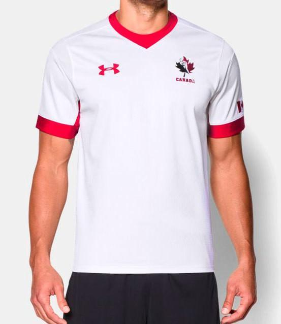 Pitchside - Rugby Canada Official Replica By Under Armour (AWAY)