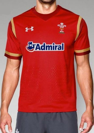 Pitchside - Welsh Rugby Union (WRU) Replica Jersey 15/16 (Red)