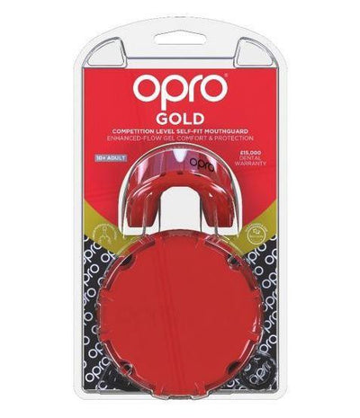 Protection - OPRO Gold Mouthguard