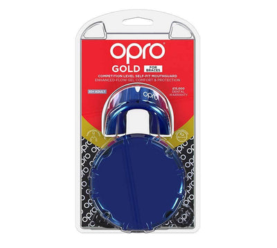 Protection - OPRO Gold Mouthguard For Braces