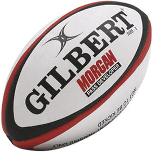 Rugby Balls - Gilbert Morgan Pass Developer