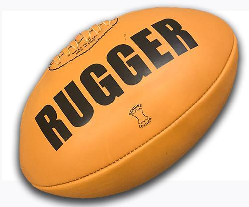 Rugby Balls - Leather Presentation Ball