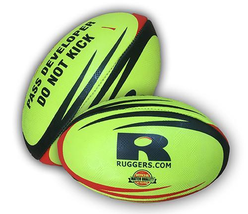 Rugby Balls - Ruggers Weighted Pass Developer