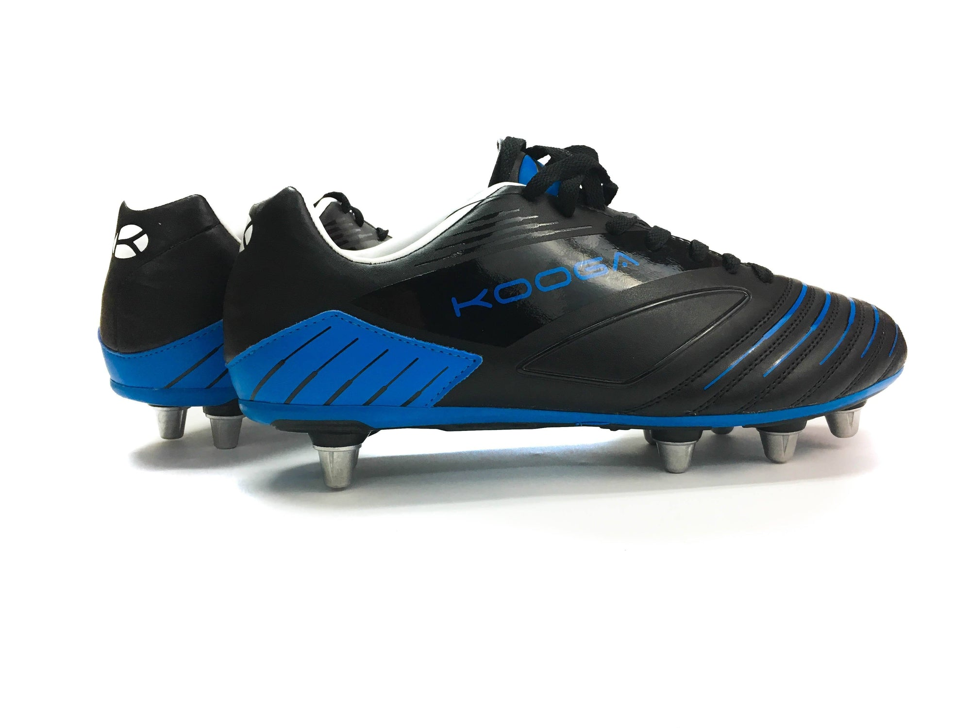 Rugby Boots - Kooga Advantage Rugby Boot (Black Blue)