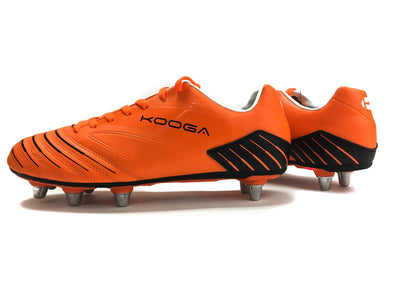 Rugby Boots - Kooga Advantage Rugby Boot (Orange Black)