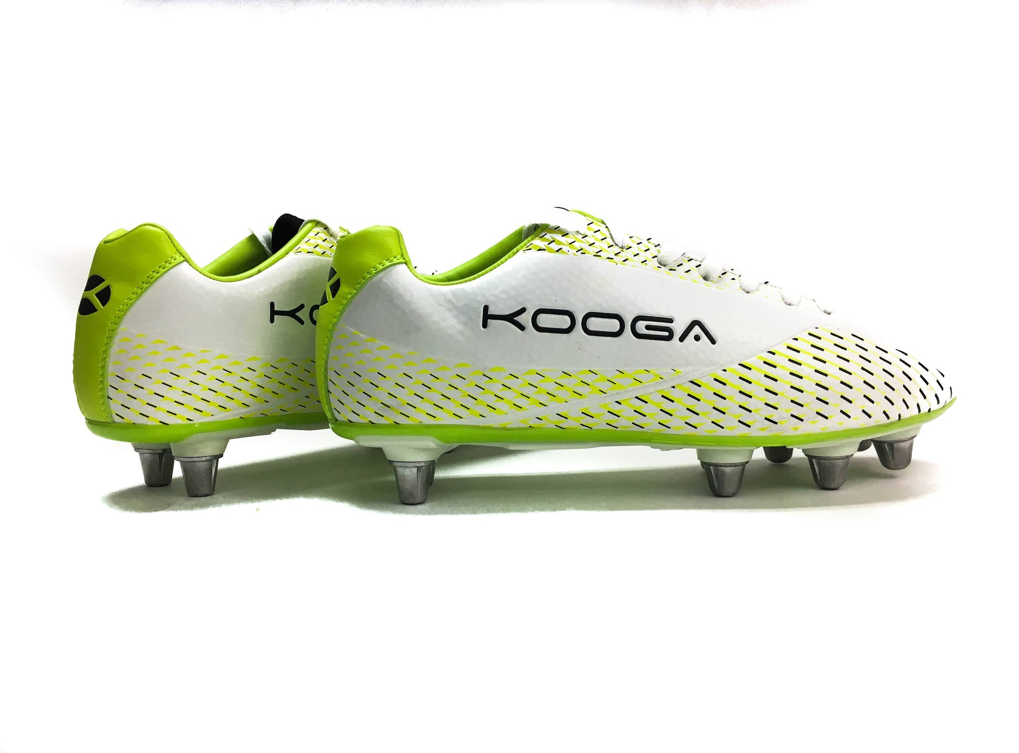 Rugby Boots - Kooga Combat Rugby Boot (White Green)