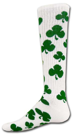 Sock - Shamrock Knee High Athletic Socks