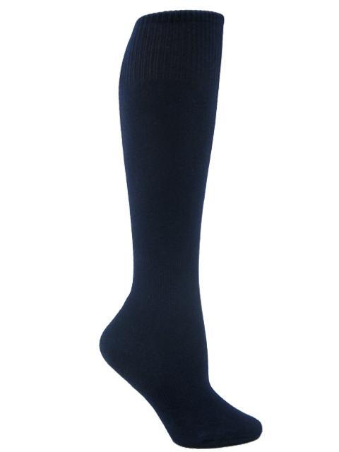 Youth - Youth Socks - Solid Navy & Black