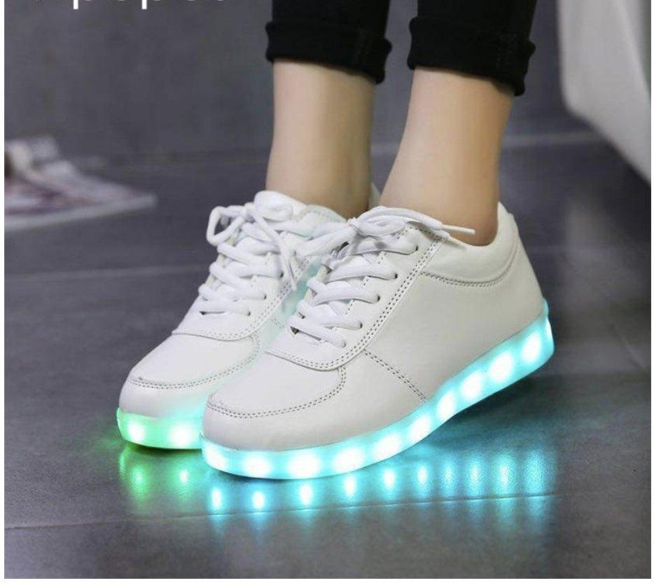 Womens Led Light Up Sneakers